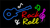 Rock And Roll Neon Sign