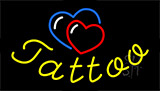 Tattoo With Heart Logo LED Neon Sign