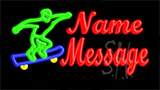 Custom Skater LED Neon Sign