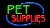 Pet Supplies LED Neon Sign