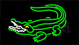 Crocodile LED Neon Sign