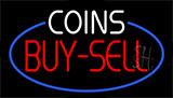 Coins Buy Sell Neon Sign