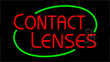 Contact Lenses Neon Sign