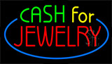 Cash For Jewelry Neon Sign