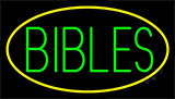 Green Bibles Neon Sign