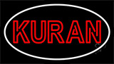 Kuran With Border Neon Sign
