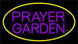 Purple Prayer Garden Neon Sign