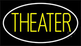 Theater With Border Neon Sign