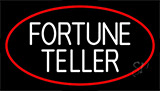White Fortune Teller Neon Sign