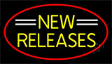 Yellow New Releases Neon Sign