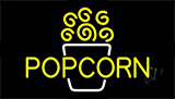 Yellow Popcorn 1 Neon Sign