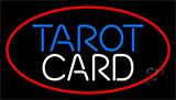 Red Tarot Card Neon Sign