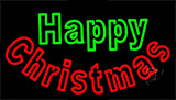 Happy Christmas LED Neon Sign