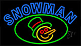 Snowman LED Neon Sign