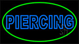 Double Stroke Piercing LED Neon Sign