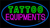 Double Stroke Tattoo Equipment LED Neon Sign