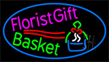 Florist Gift Basket Neon Sign