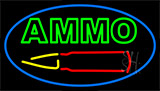 Green Ammo Neon Sign
