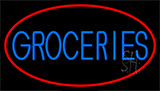 Groceries LED Neon Sign