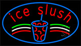 Ice Slush Logo Neon Sign