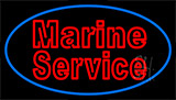 Marine Service LED Neon Sign