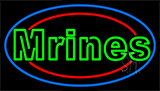 Marines LED Neon Sign
