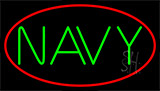 Navy Block Neon Sign