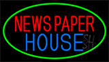 Newspaper House Neon Sign