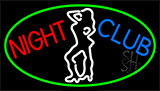 Red Night Club Girls Neon Sign
