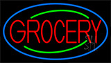 Simple Grocery Neon Sign