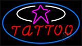 Tattoos With Star Logo LED Neon Sign