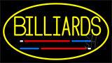 Billiards 3 Neon Sign