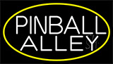 Pinball Alley 3 Neon Sign