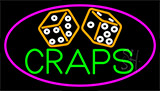 Double Stroke Craps 2 Neon Sign