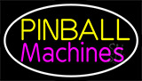 Double Strock Pinball Machines 1 Neon Sign