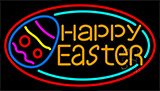 Happy Easter Egg 2 LED Neon Sign