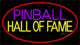 Pinball Hall Of Fame 3 Neon Sign