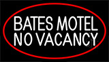Bates Motel No Vacancy LED Neon Sign