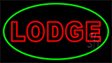 Double Stroke Lodge LED Neon Sign