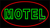 Green Motel LED Neon Sign