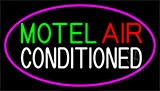 Motel Air Conditioned LED Neon Sign