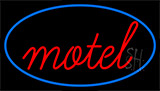 Red Motel LED Neon Sign