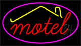 Red Motel With Symbol LED Neon Sign