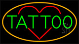 Tattoo Heart LED Neon Sign