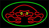 Crab Red Logo LED Neon Sign