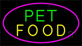 Pet Food LED Neon Sign