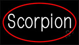 Scorpion Red LED Neon Sign