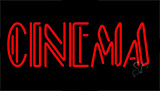 Cinema Red Neon Sign
