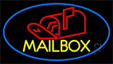 Mailbox With Logo Neon Sign