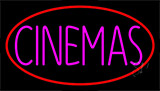 Pink Cinemas Neon Sign